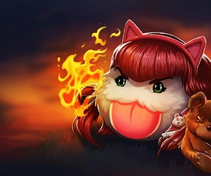 annie, league of legends, and poro image
