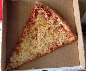 pizza, cheese, and mozzarella image