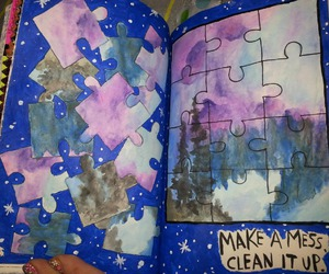 abstract, paisaje, and wreck this journal image