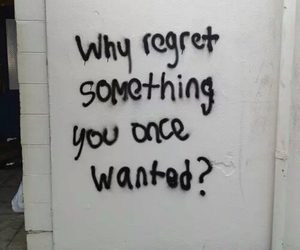 quotes, regret, and grunge image