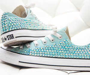 beautiful, blue, and converse image