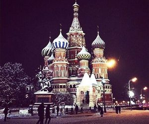 Dream, moscow, and night image