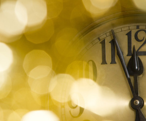clock and new year image