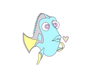 transparent, finding nemo, and love image