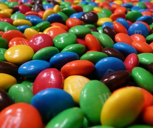 m&m's, chocolate, and colors image