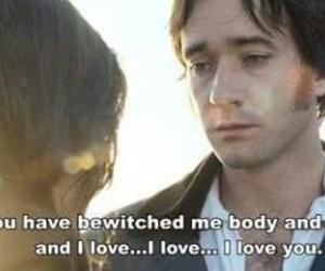 love, pride and prejudice, and mr darcy image