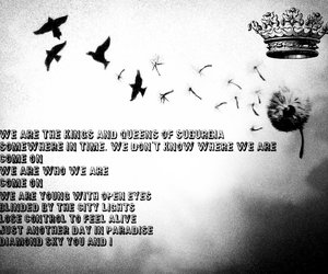 kings, Lyrics, and queens image