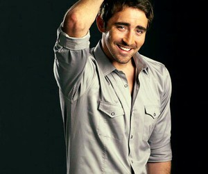 lee pace and smile image