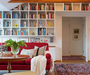 books, interior design, and Houses image