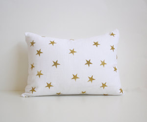 etsy, pillow, and gold image