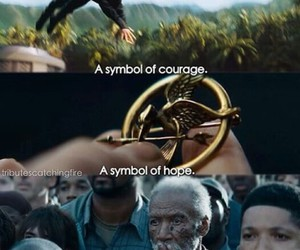 courage, hope, and hunger games image