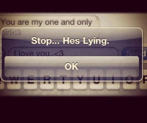 lies, stop, and lying image