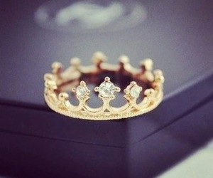 ring, crown, and Queen image