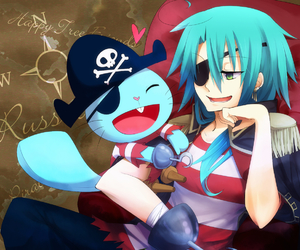 anime, happy tree friends, and Russell image