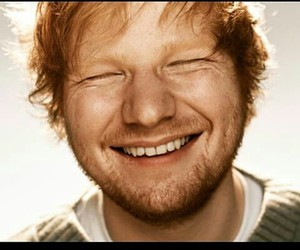 ed sheeran, smile, and ed image