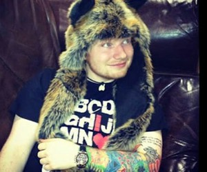 ed sheeran, ed, and tattoo image