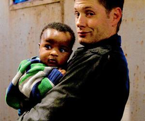 supernatural, baby, and Jensen Ackles image