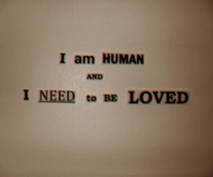 love, human, and text image