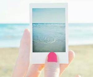 nails, beach, and sea image