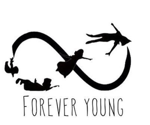 disney, Forever Young, and hipster image
