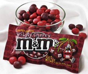 cherry, cool, and m&m image