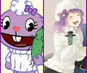anime, happy tree friends, and mr.pickles image