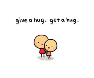 hug and chibird image