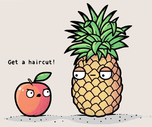 fruit, funny, and lol image