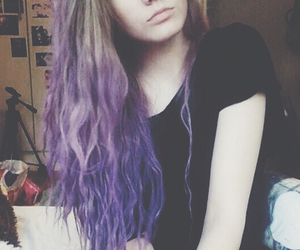 black, pale, and purple image