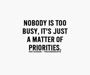 matter, priorities, and nobody image