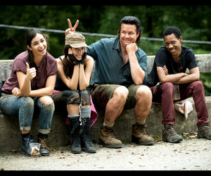 the walking dead, twd, and noah image