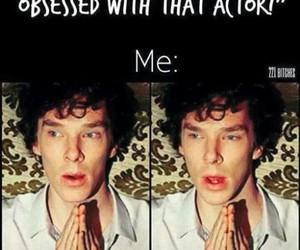 actor, sherlock, and benedict cumberbatch image