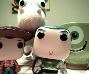 buzz, monsters inc, and toy story image