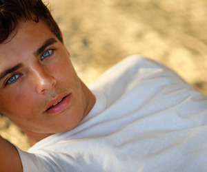 boy, Hot, and blue eyes image