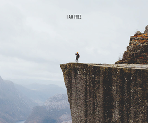 free, mountains, and freedom image