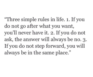 quotes, life, and rules image