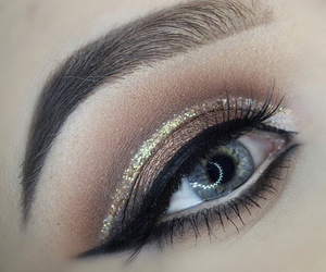 eye makeup and glamour image