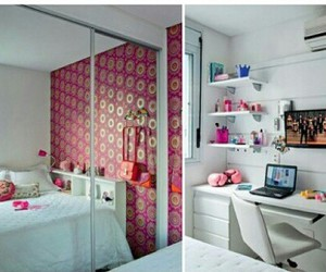 room, pink, and quarto image