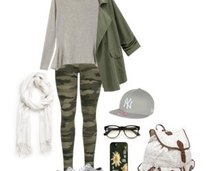 fashion, glasses, and green image