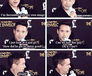 actor, robert downey jr, and Avengers image