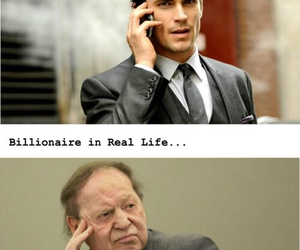 funny, billionaire, and lol image