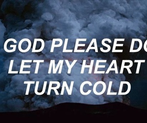 heart, cold, and quotes image