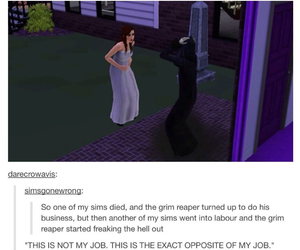 sims and funny image