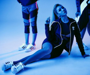 CL, 2ne1, and adidas image