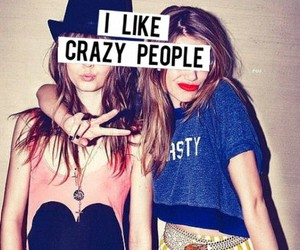 best friends, forever, and crazy image