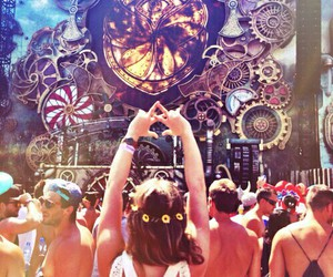Tomorrowland, festival, and music image