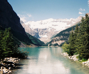 nature, mountains, and lake image