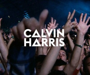 calvin, electronic, and harris image