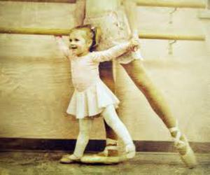ballet and child image