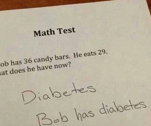 funny, diabetes, and lol image